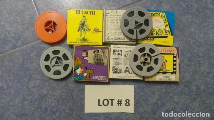 Cine: 4 PELÍCULAS-8 MM OLD HOME MOVIES RETRO-VINTAGE FILM LOTE # 8 - Foto 13 - 138794930