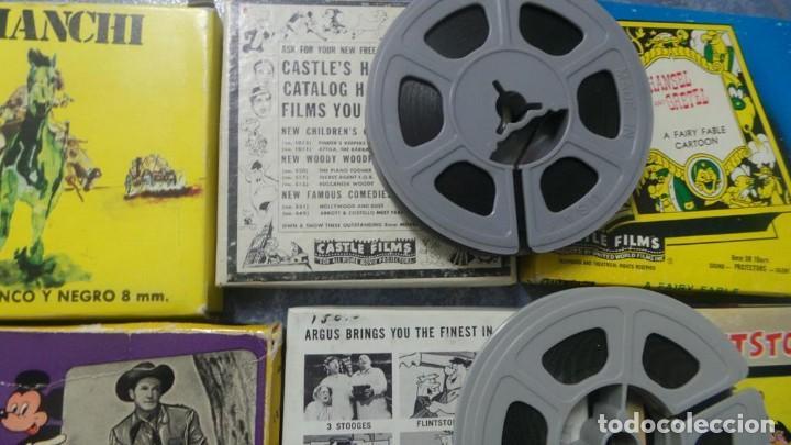 Cine: 4 PELÍCULAS-8 MM OLD HOME MOVIES RETRO-VINTAGE FILM LOTE # 8 - Foto 19 - 138794930