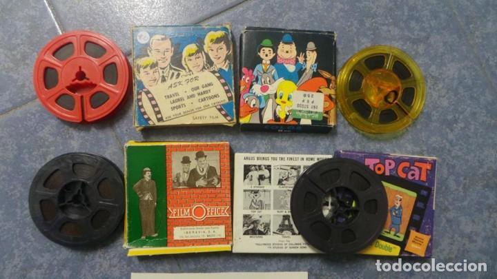 4 PELÍCULAS-8 MM OLD HOME MOVIES RETRO-VINTAGE FILM LOTE # 10 (Cine - Películas - 8 mm)