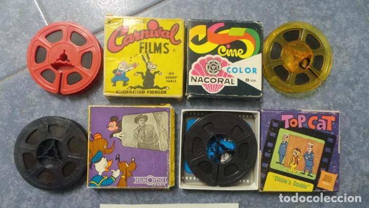 Cine: 4 PELÍCULAS-8 MM OLD HOME MOVIES RETRO-VINTAGE FILM LOTE # 10 - Foto 5 - 138795514