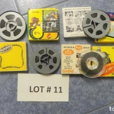 Cine: 4 PELÍCULAS-8 MM OLD HOME MOVIES RETRO-VINTAGE FILM LOTE # 11 . Lote 138795834