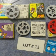 Cine: 4 PELÍCULAS-8 MM OLD HOME MOVIES RETRO-VINTAGE FILM LOTE # 12 . Lote 138796454