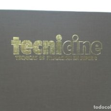 Cine: LIBRO DE TECNICA DE CINE FILMACION SUPER 8. Lote 151203502