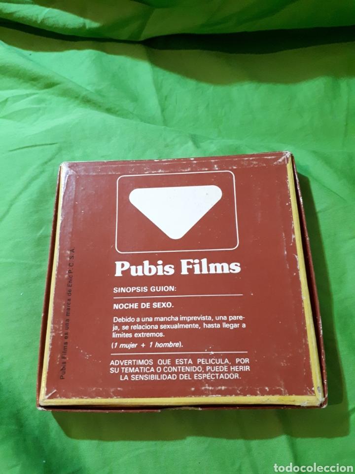 Cine: CINE PARA ADULTOS PUBIS FILMS 8 MM NOCHE DE SEXO REF. 503 SONORA - Foto 4 - 152577084