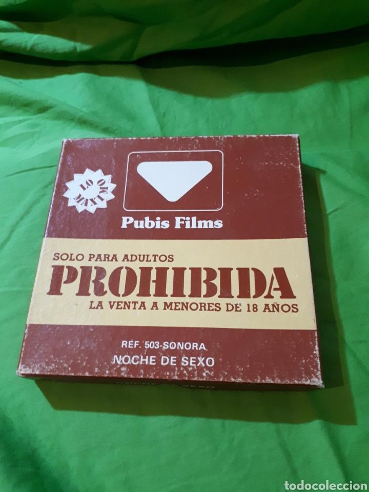 Cine: CINE PARA ADULTOS PUBIS FILMS 8 MM NOCHE DE SEXO REF. 503 SONORA - Foto 5 - 152577084