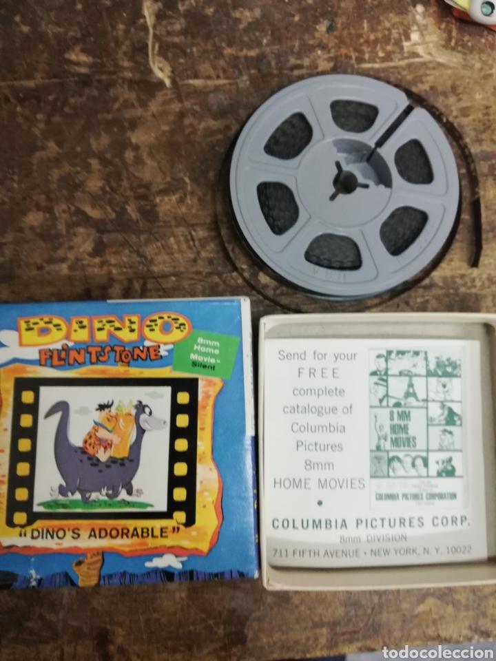 Cine: Película 8 mm Dino. Flinston. Dino es adorable. Caja. Estado ver fotos. - Foto 2 - 154192658