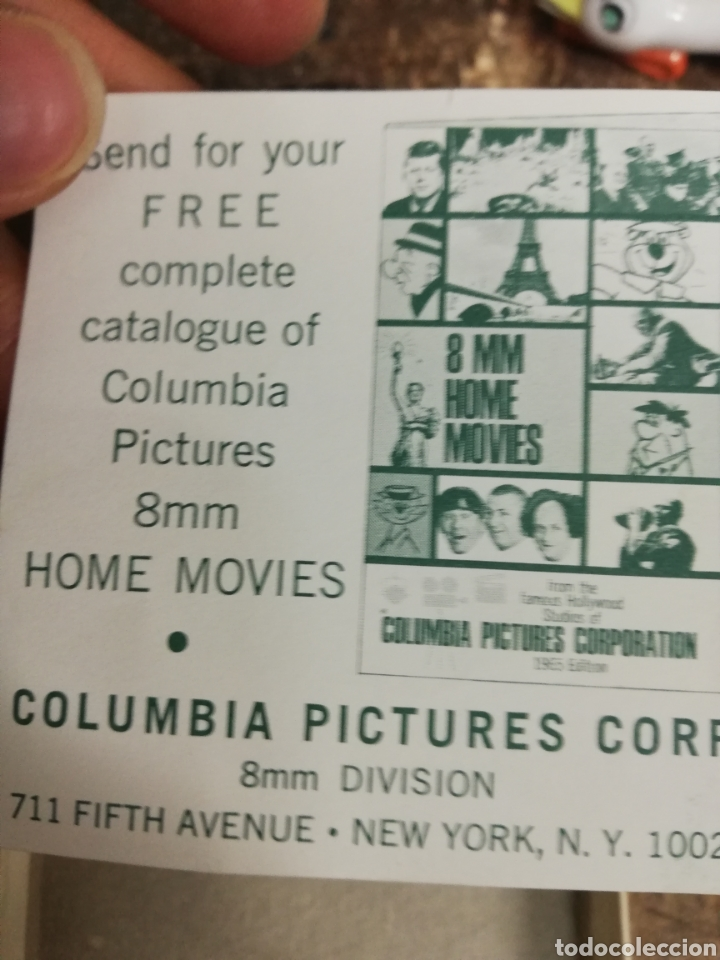 Cine: Película 8 mm Dino. Flinston. Dino es adorable. Caja. Estado ver fotos. - Foto 4 - 154192658