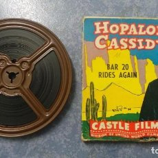 Cine: HOPALONG CASSIDY-BAR 20 RIDES AGAIN , PELÍCULA 8 MM-CULT-RETRO,VINTAGE FILM AÑOS 40. Lote 168526940