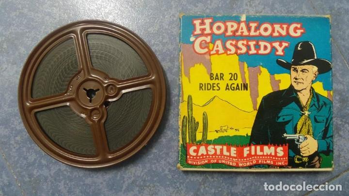 Cine: HOPALONG CASSIDY-BAR 20 RIDES AGAIN , PELÍCULA 8 MM-CULT-RETRO,VINTAGE FILM AÑOS 40 - Foto 97 - 168526940