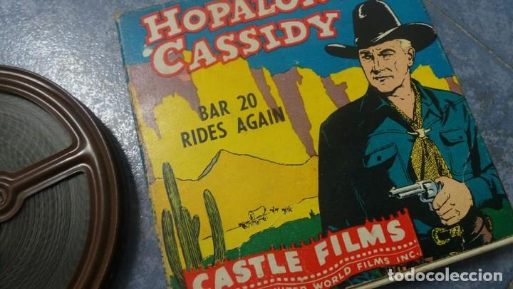 Cine: HOPALONG CASSIDY-BAR 20 RIDES AGAIN , PELÍCULA 8 MM-CULT-RETRO,VINTAGE FILM AÑOS 40 - Foto 99 - 168526940