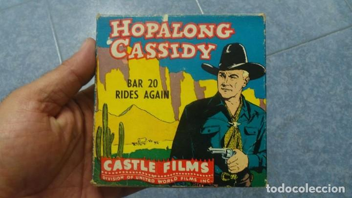 Cine: HOPALONG CASSIDY-BAR 20 RIDES AGAIN , PELÍCULA 8 MM-CULT-RETRO,VINTAGE FILM AÑOS 40 - Foto 100 - 168526940