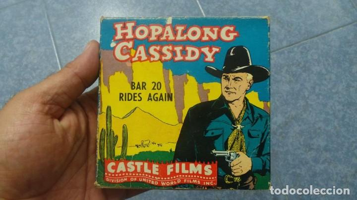 Cine: HOPALONG CASSIDY-BAR 20 RIDES AGAIN , PELÍCULA 8 MM-CULT-RETRO,VINTAGE FILM AÑOS 40 - Foto 101 - 168526940