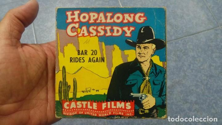 Cine: HOPALONG CASSIDY-BAR 20 RIDES AGAIN , PELÍCULA 8 MM-CULT-RETRO,VINTAGE FILM AÑOS 40 - Foto 104 - 168526940