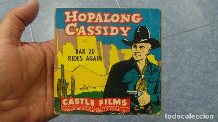 Cine: HOPALONG CASSIDY-BAR 20 RIDES AGAIN , PELÍCULA 8 MM-CULT-RETRO,VINTAGE FILM AÑOS 40 - Foto 105 - 168526940