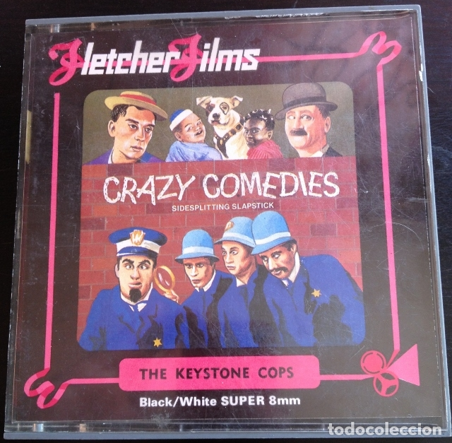CRAZY COMEDIES. SIDESPLITTING SPLASTICK. - THE KEYSTONE COPS. (Cine - Películas - 8 mm)