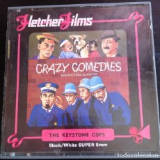 Cine: CRAZY COMEDIES. SIDESPLITTING SPLASTICK. - THE KEYSTONE COPS.. Lote 173698195
