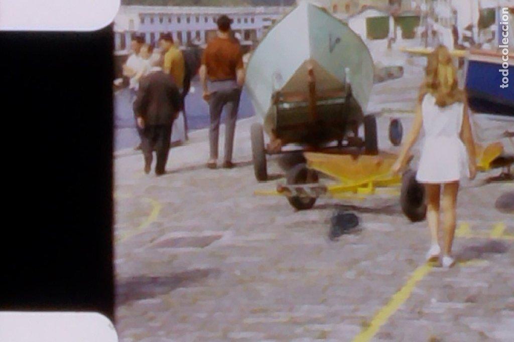 GRABACIÓN CINTA SUPER 8, PUERTO DE DENIA, ALICANTE, GRABACIÓN CASERA. AÑOS 60 (Cine - Películas - 8 mm)