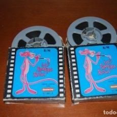 Cine: DOS PELICULAS DE LA PANTERA ROSA. Lote 180861355