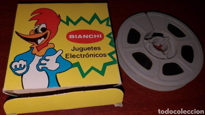 Cine: PELÍCULA A COLOR 8 mm Tom y Jerry - El primo de Jerry - juguetes Bianchi - Foto 2 - 181070467