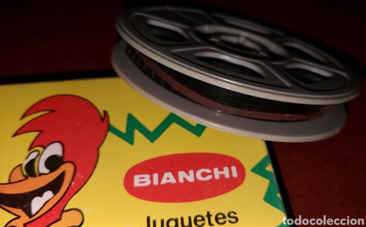 Cine: PELÍCULA A COLOR 8 mm Tom y Jerry - El primo de Jerry - juguetes Bianchi - Foto 3 - 181070467