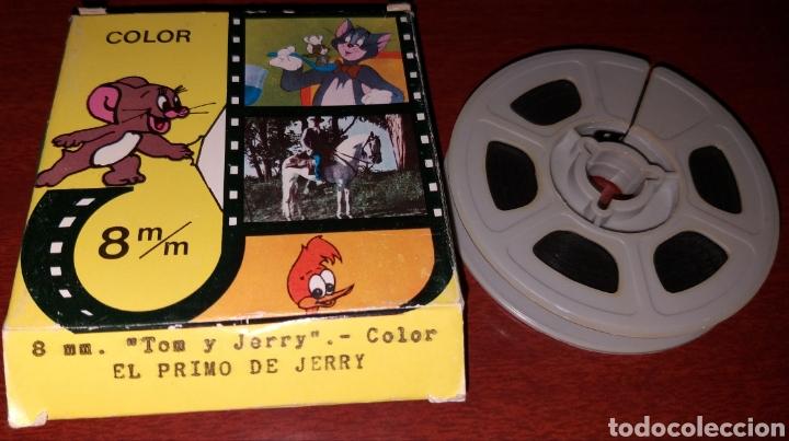 PELÍCULA A COLOR 8 MM TOM Y JERRY - EL PRIMO DE JERRY - JUGUETES BIANCHI (Cine - Películas - 8 mm)