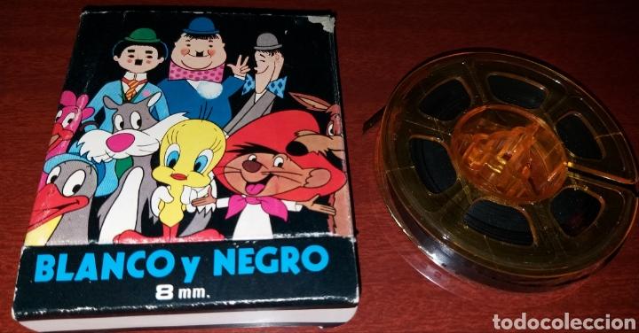 Cine: PELÍCULA CINE Nacoral 8 mm blanco y negro Tom y Jerry - el gato enamorado - - Foto 4 - 181071623