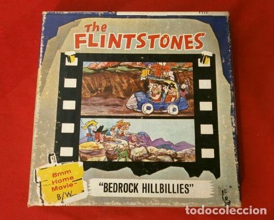 THE FLINTSTONES - LOS PICAPIEDRAS (1968) BEDROCK HILLBILLIES PELÍCULA 8 MM B/N MUDA - HANNA BARBERA (Cine - Películas - 8 mm)
