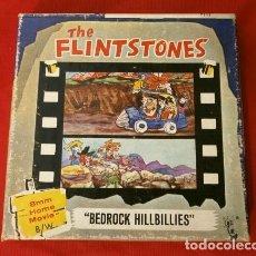 Cine: THE FLINTSTONES - LOS PICAPIEDRAS (1968) BEDROCK HILLBILLIES PELÍCULA 8 MM B/N MUDA - HANNA BARBERA. Lote 181612783