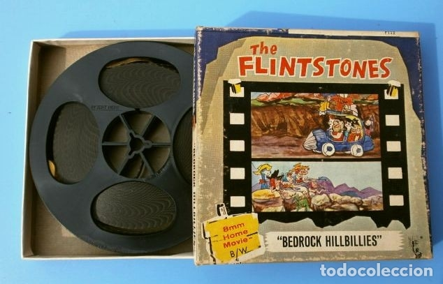 Cine: the FLINTSTONES - Los Picapiedras (1968) BEDROCK HILLBILLIES Película 8 mm B/N MUDA - Hanna Barbera - Foto 2 - 181612783