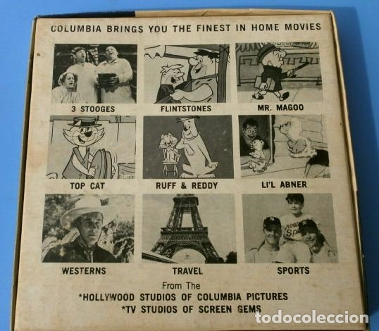Cine: the FLINTSTONES - Los Picapiedras (1968) BEDROCK HILLBILLIES Película 8 mm B/N MUDA - Hanna Barbera - Foto 3 - 181612783