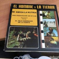 Cinéma: EL HOMBRE Y LA TIERRA MI AMIGA LA NUTRIA PELICULA SUPER 8 M/M . SONORA COLOR (CDIB1). Lote 183698697