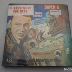 Cine: PELICULA SUPER 8 MM. / COLOR SONORA ESPAÑOL /EL EXPRESO DE VON RYAN / FRANK SINATRA. Lote 184163751