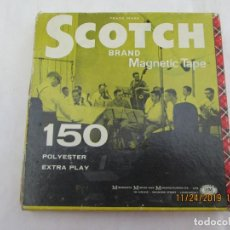 Cine: CINTA MAGNETOFON SCOTCH - BRAN MAGNETIC TAPE 150 -12 . Lote 184384027