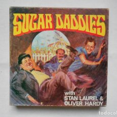 Cine: EL GORDO Y EL FLACO - SUGAR DADDIES STAN LAUREL OLIVER HARDY - PELICULA SUPER 8 VINTAGE. Lote 186433658
