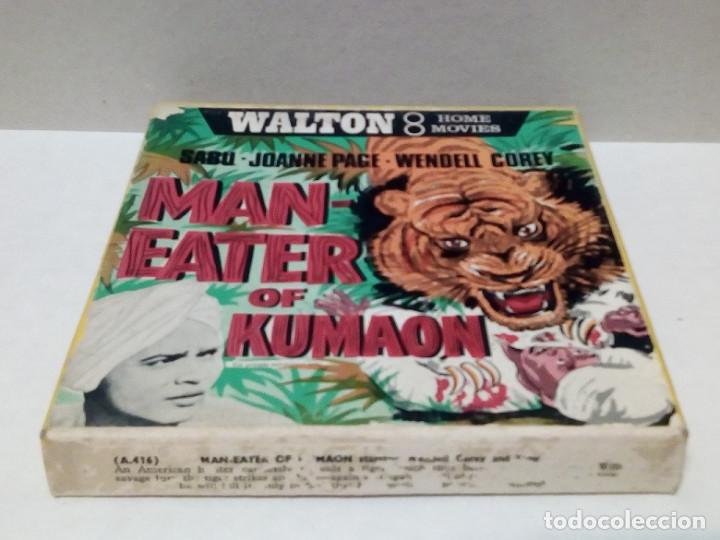 Cine: Película 8 mm - Man-Eater Of Kumaon - Foto 3 - 191125751