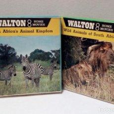 Cine: LOTE PELÍCULAS 8 MM - WALTON 8 - ANIMALES. Lote 191125897