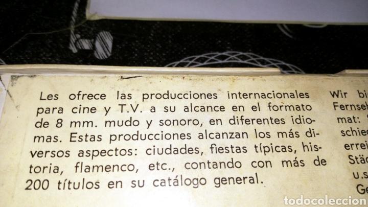 Cine: Película 8mm teletecnicine internacional no probada en apariencia en buen estado - Foto 2 - 191479925