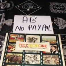 Cine: PELÍCULA 8MM TELETECNICINE INTERNACIONAL NO PROBADA EN APARIENCIA EN BUEN ESTADO. Lote 191479925