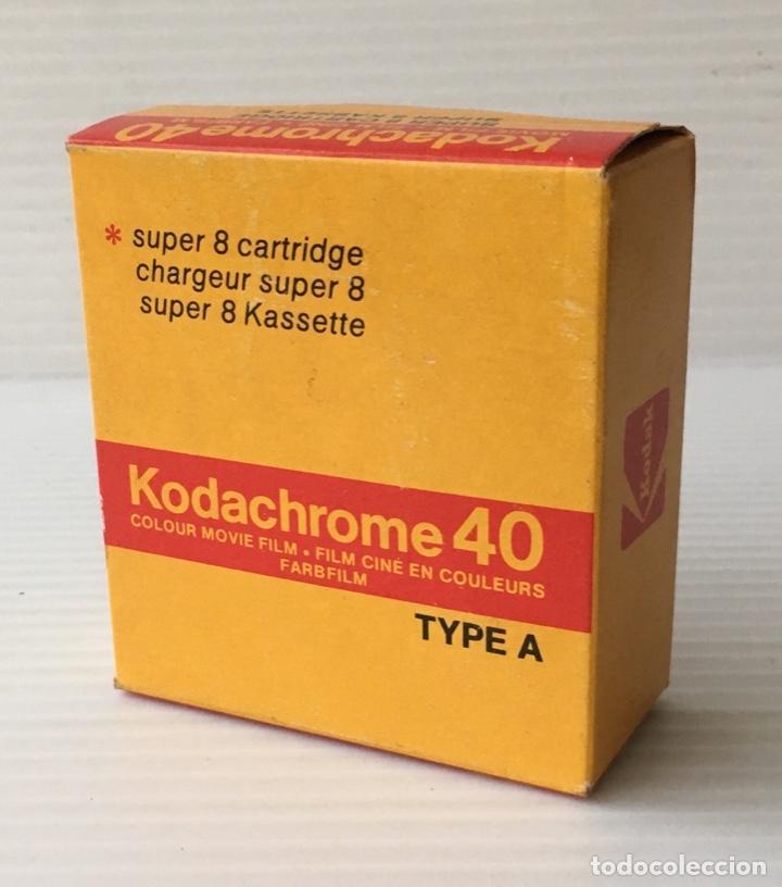 KODAK KODACHROME 40. SUPER 8. NUEVA. (Cine - Películas - 8 mm)