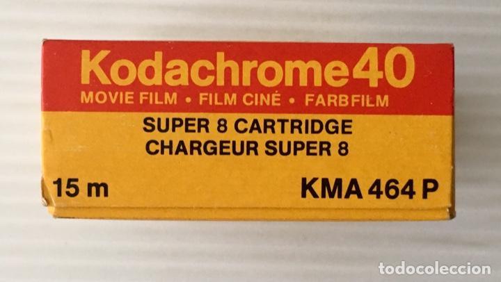 Cine: KODAK KODACHROME 40. SUPER 8. NUEVA. - Foto 2 - 201861676