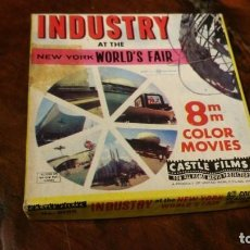 Cine: PELICULA 8 MM COLOR NEW YORK WORLD´S FAIR - CASTLE FILMS. Lote 193776736