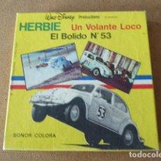 Cine: HERBIE. UN VOLANTE LOCO. EL BOLIDO Nº 53. WALT DISNEY. SONORO. BOBINA DE 60 MTS.. Lote 197641043