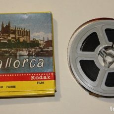 Cine: PELICULA MALLORCA 8M 15 METROS LABORATORIOS IRISCOLOR KODAK FILM EN BUEN ESTADO. Lote 200591953