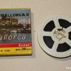 Cine: PELICULA MALLORCA II 8M 15 METROS LA BORATORIOS IRISCOLOR KODAK FILM EN BUEN ESTADO. Lote 200592177