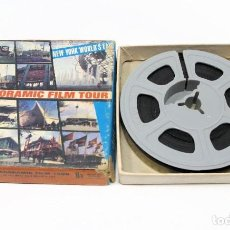 Cine: DOCUMENTAL DE 8 MM. A PANORAMIC FILM TOUR NEW YORK WORLD'S FAIR- MADE IN U.S.A. 4 MIN. 1965.. Lote 202363961
