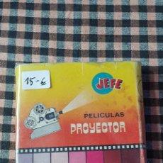 Cine: PELICULA PARA EL PROYECTOR JEFE 8 MM, PUMBY EL VALLE DE LOS GIGANTES EN B/N.. Lote 204610043