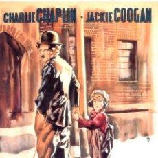 Cine: 8MM STANDARD ++ EL CHICO ++ CON CHARLES CHAPLIN Y JACKIE COOGAN 2X180 METROS. Lote 205467947