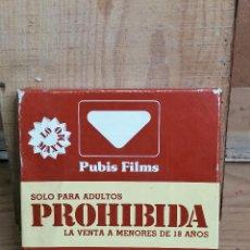 Cine: PELICULA EROTICA 8 MM PUBLIS FILM. Lote 205694110
