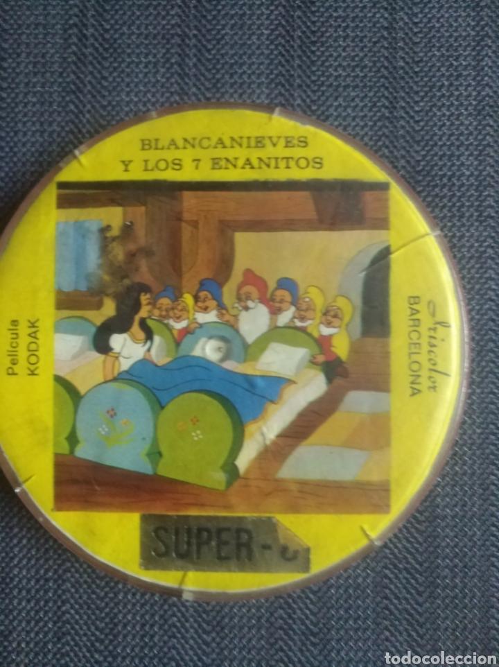 PELICULA.SUPER 8 BLANCANIEVES Y LOS 7 ENANITOS. KODAK. (Cine - Películas - 8 mm)