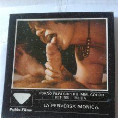 Cine: LA PERVERSA MONICA - PORNO FILM SUPER 8 MM.. Lote 214837768